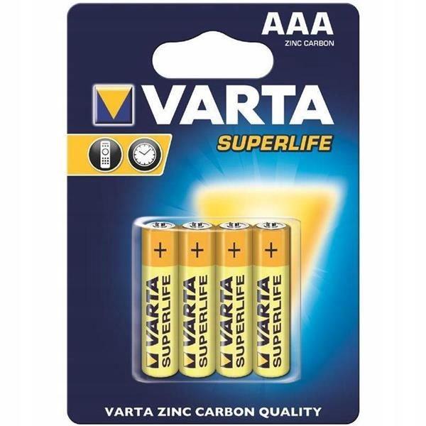 Baterie cynkowo-węglowe VARTA Superlife 2003101