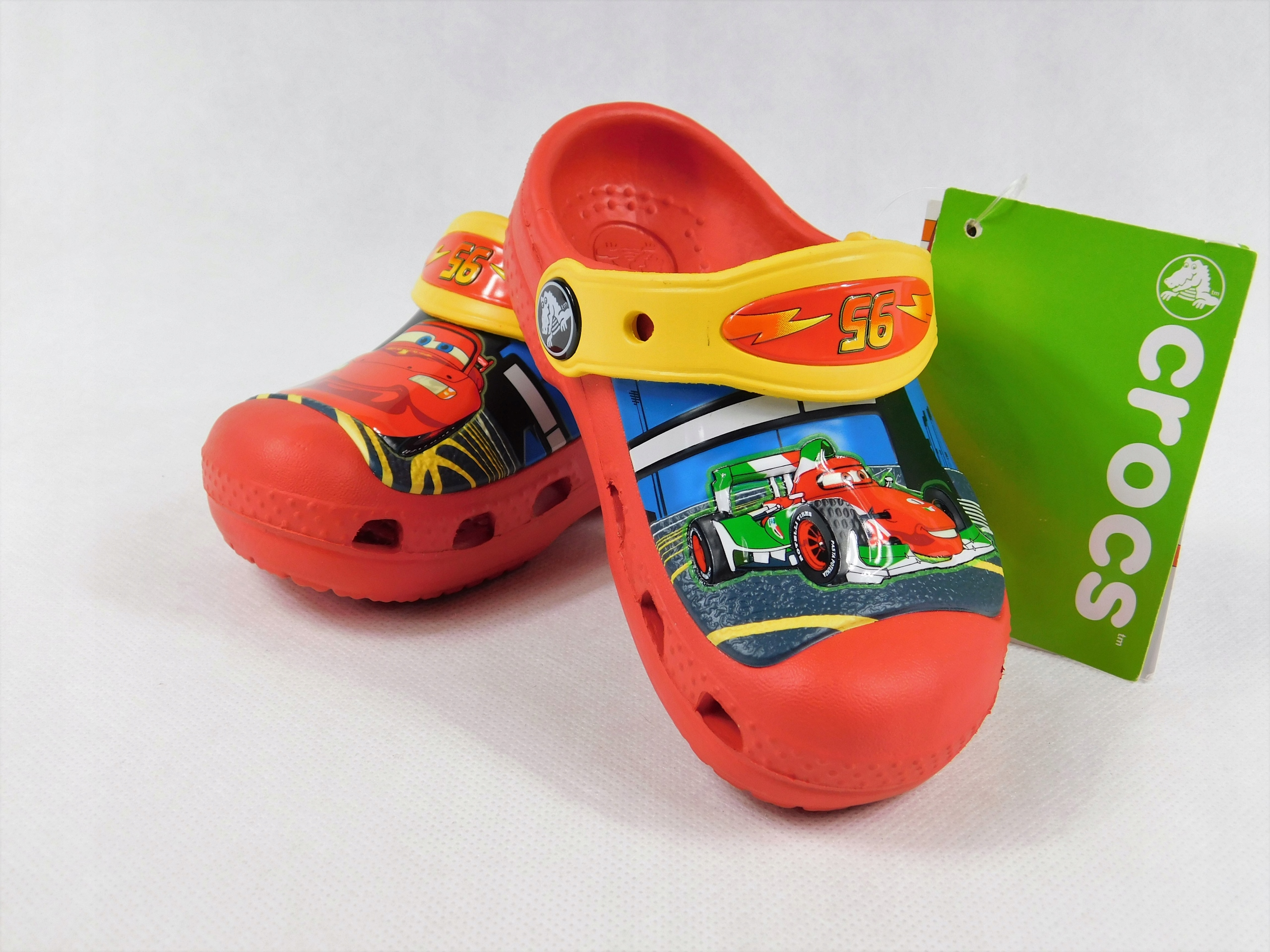 crocs c6/7 22-24 CARS fluo