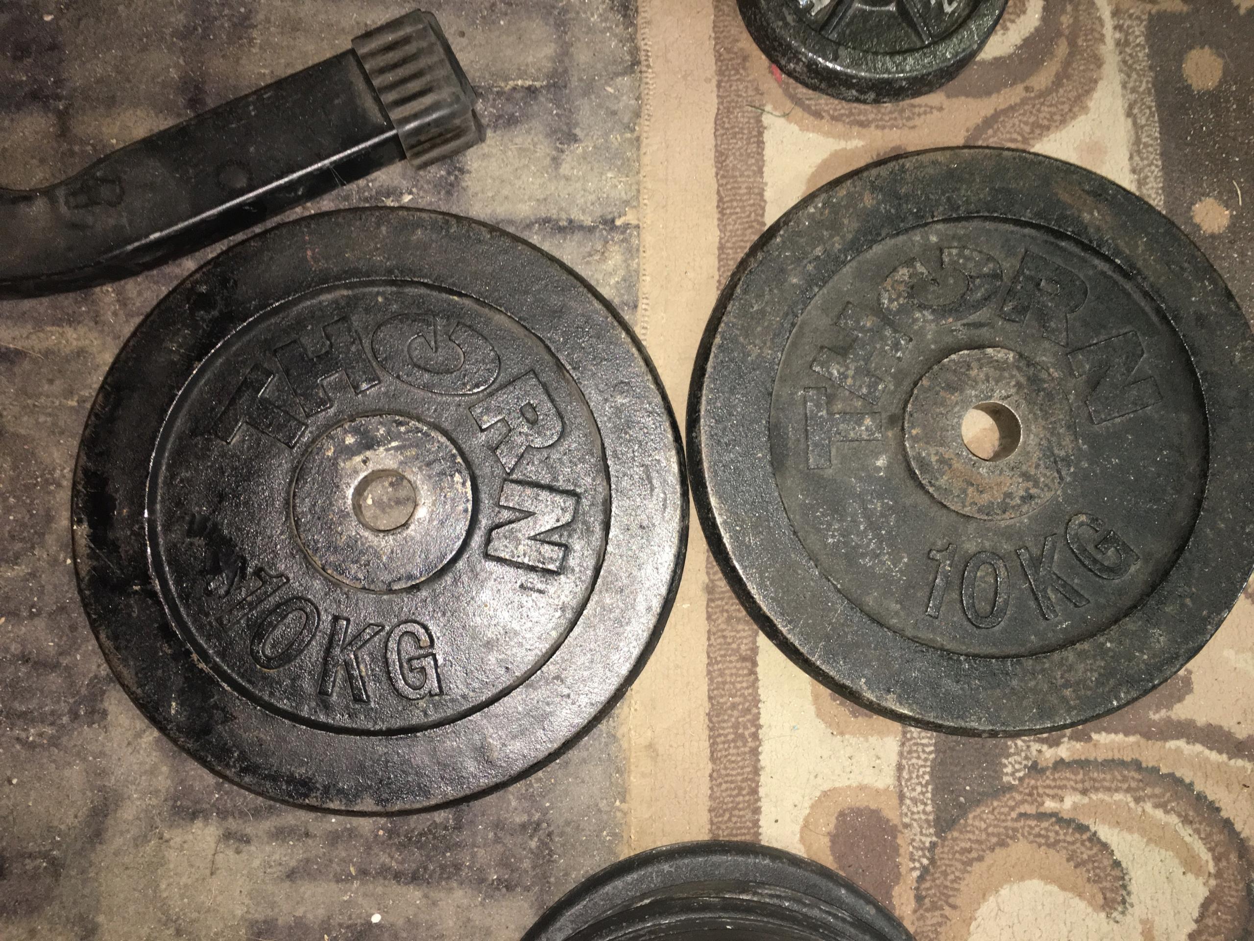 Obciążenie Thorn 2x10kg 29mm