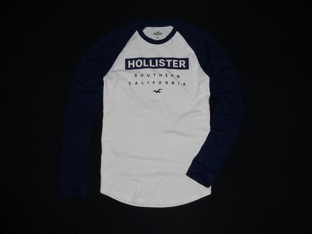 Hollister Graphic Reglan Colorblock Longsleeve M