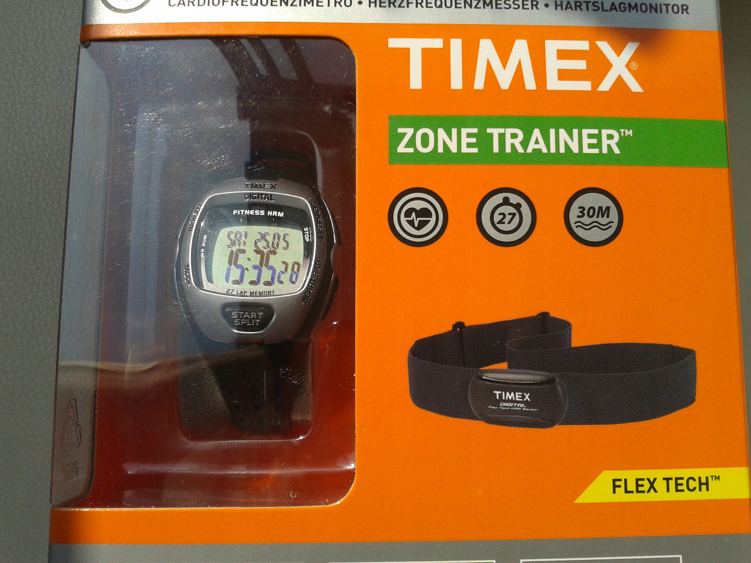 TIMEX Zone Trainer Fitness T5H891 685 Y7