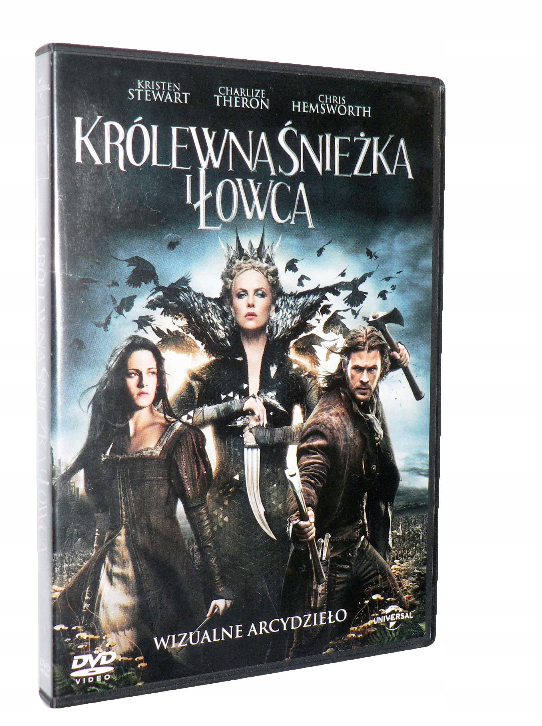 DVD - KRÓLEWNA ŚNIEŻKA I ŁOWCA (2012) - lektor