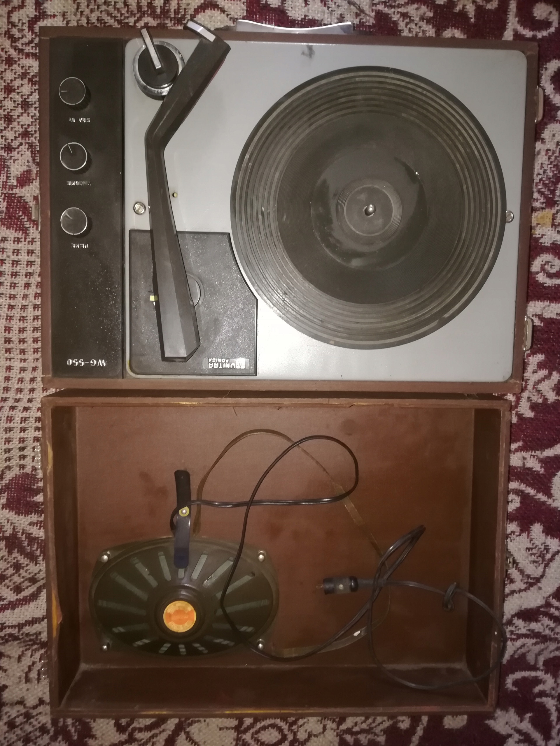 Gramofon Unitra Fonica GW-550