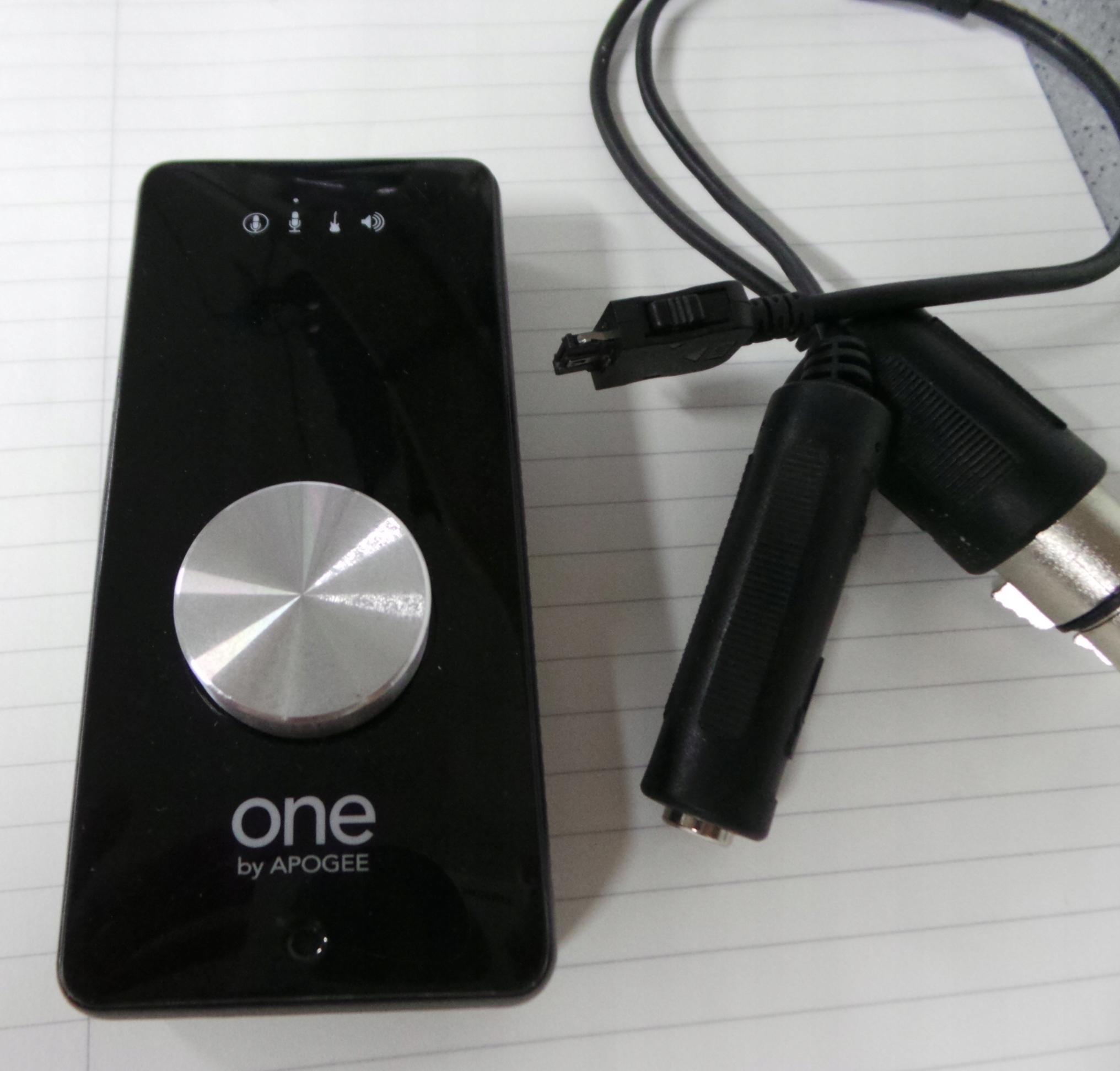 Interfejs audio One by Apogee aukcja do 31sierpnia