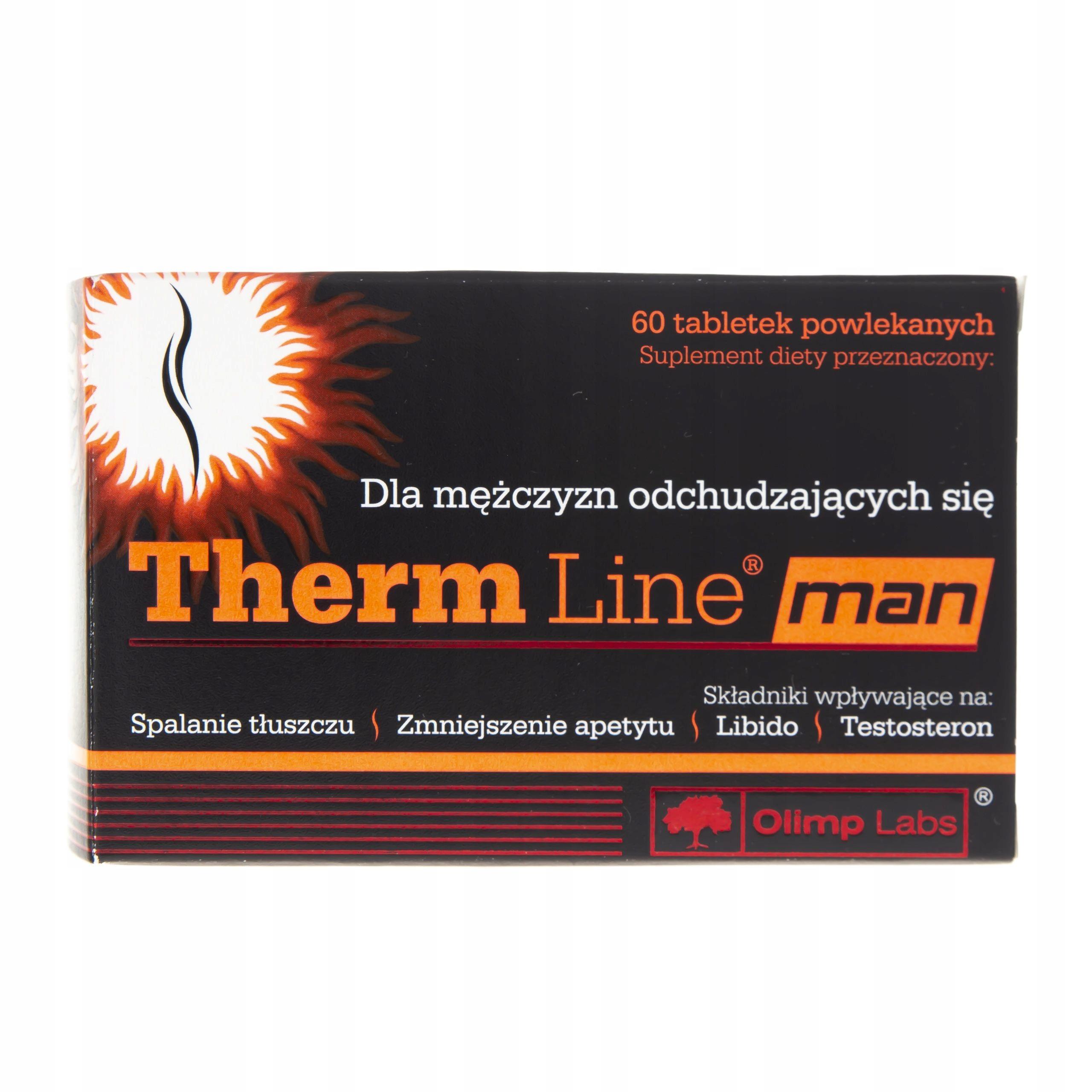 Olimp Therm Line man - 60 tabletek MĘSKIE LIBIDO