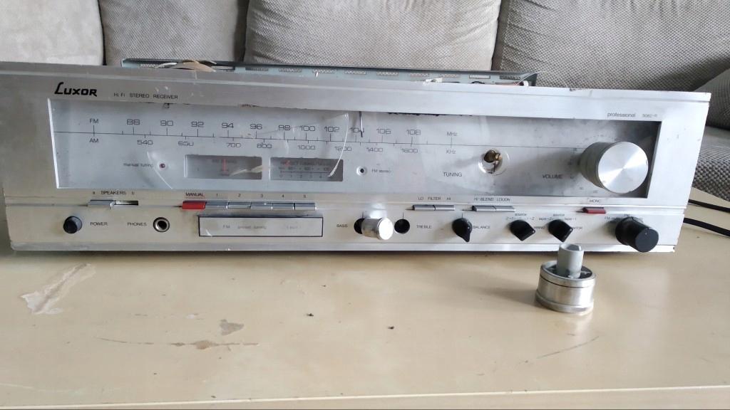 Szwedzki Rodzynek amplituner unikat LUXOR 5082r