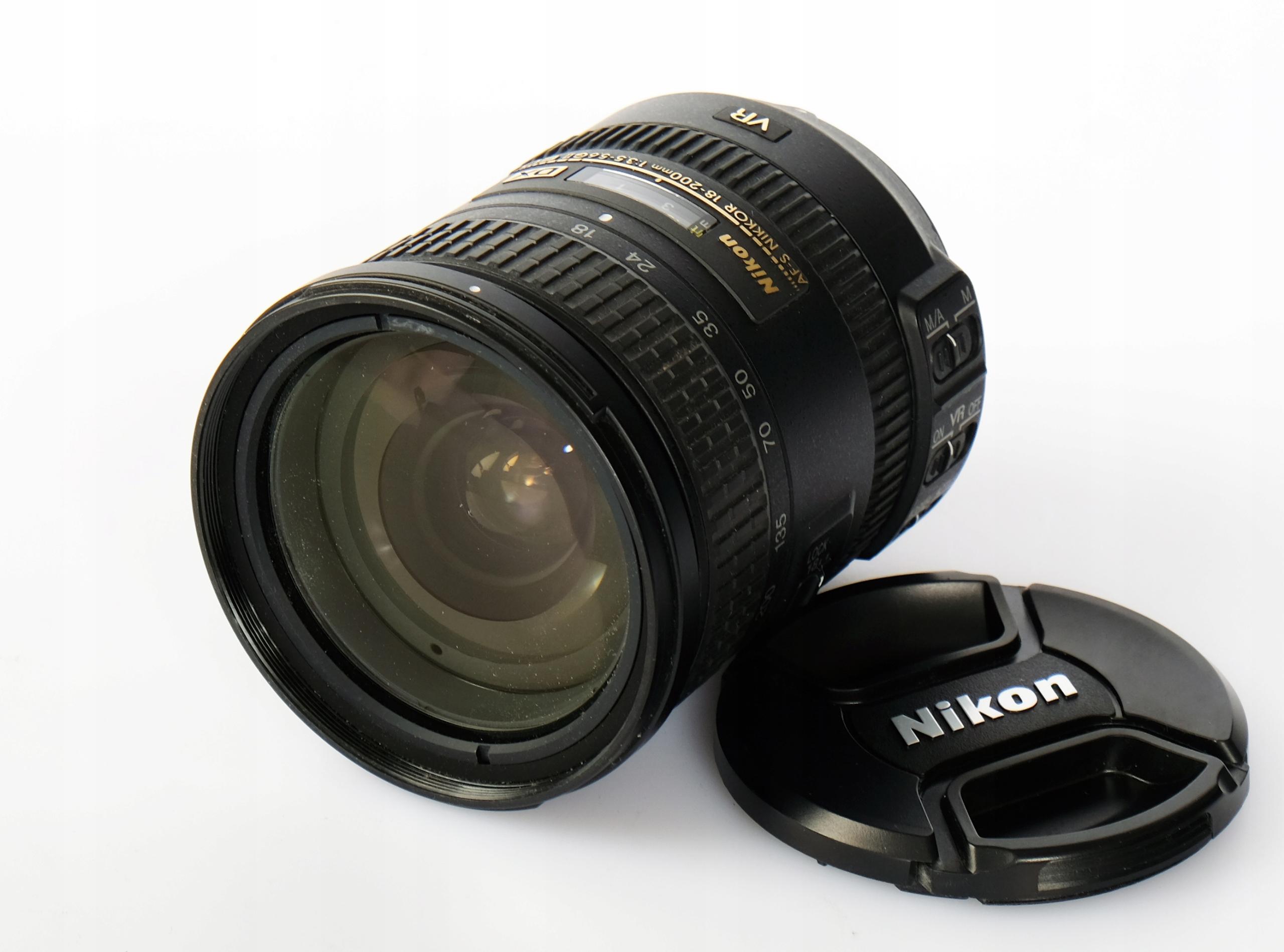 Obiektyw Nikkor AF-S 18-200/3,5-5,6 G ED VR II