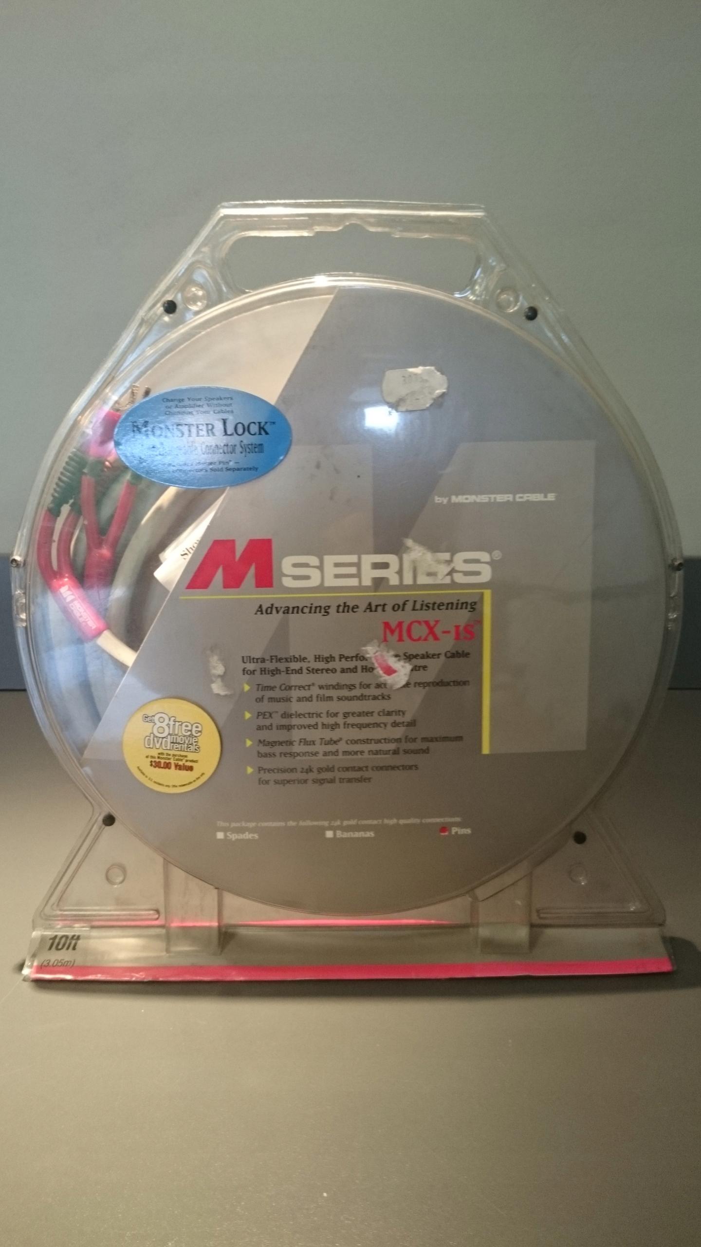 MONSTER CABLE M SERIES MCX-IS długość 3m