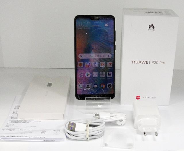 TELEFON HUAWEI P20 PRO 6/128GB KOMPLET