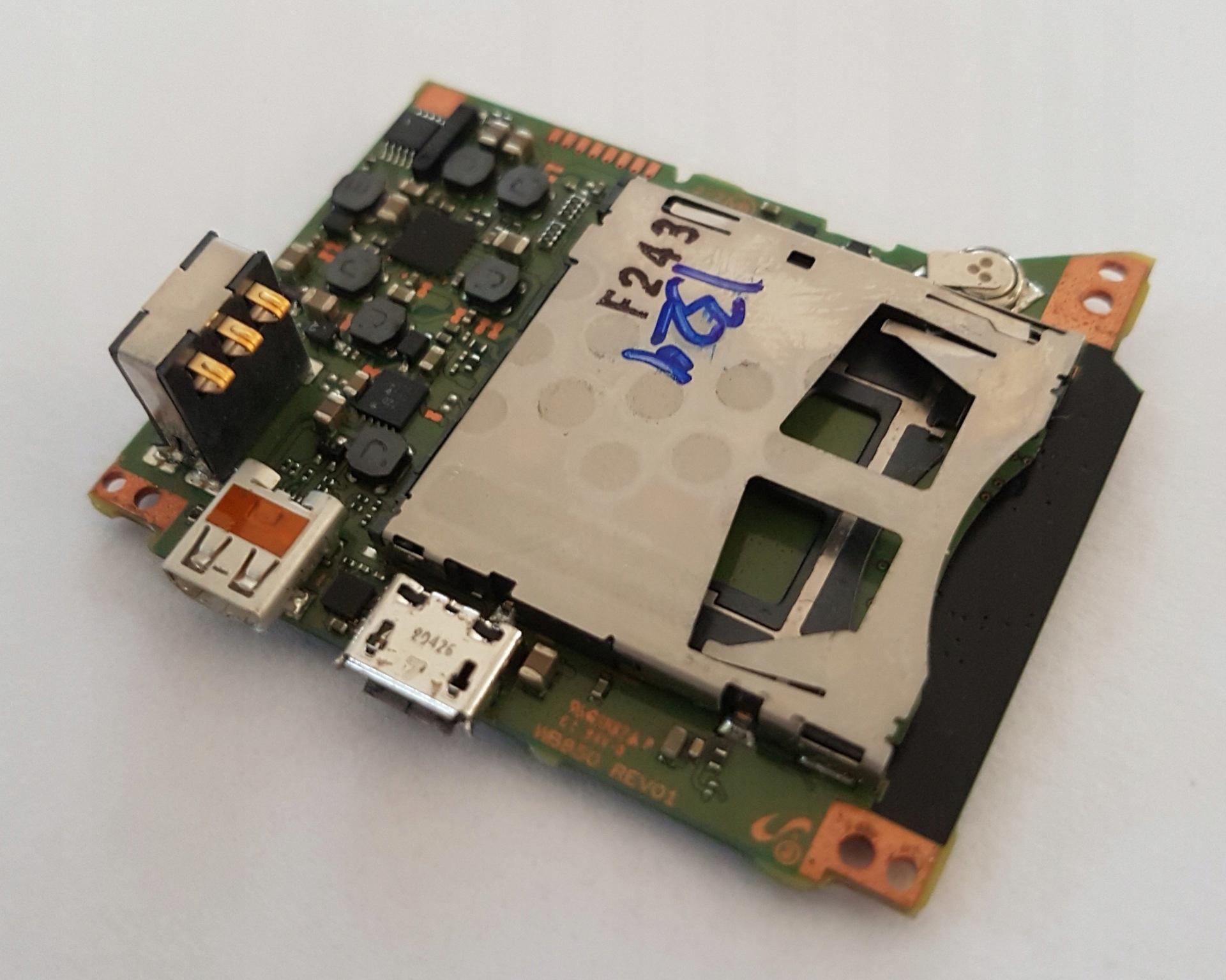 Płyta Główna Samsung WB850F Wi-Fi GPS Full HD 21x