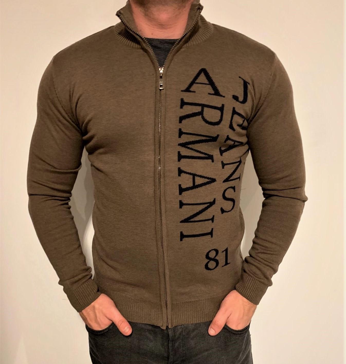 Armani Jeans-AJ_ sweterek na chłodniejsze dni_ XXL