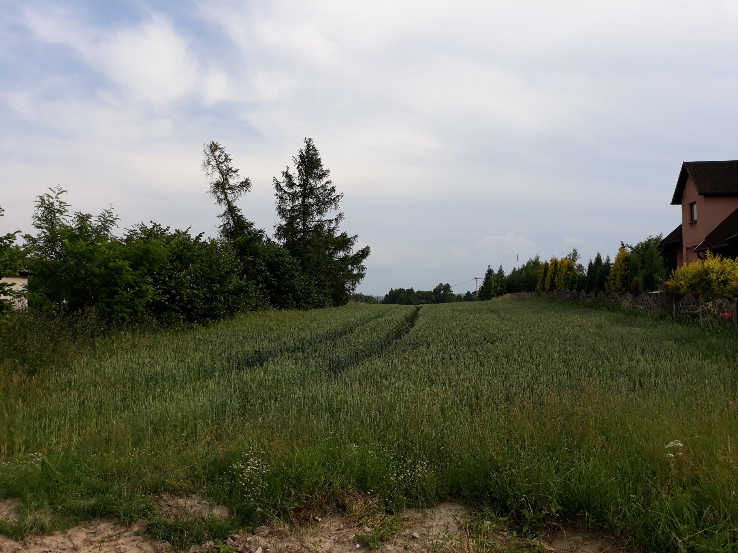 Działka budowlano-rolna,prąd,woda,gaz, 1,10 ha.