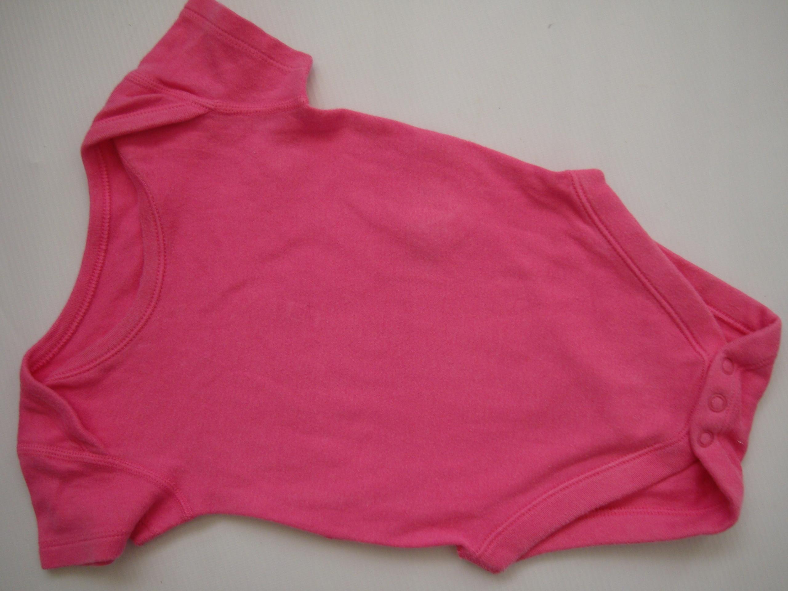 Różowe body MARKS&SPENCER r.68