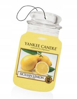 Zapach YANKEE car jar Sicilian Lemon