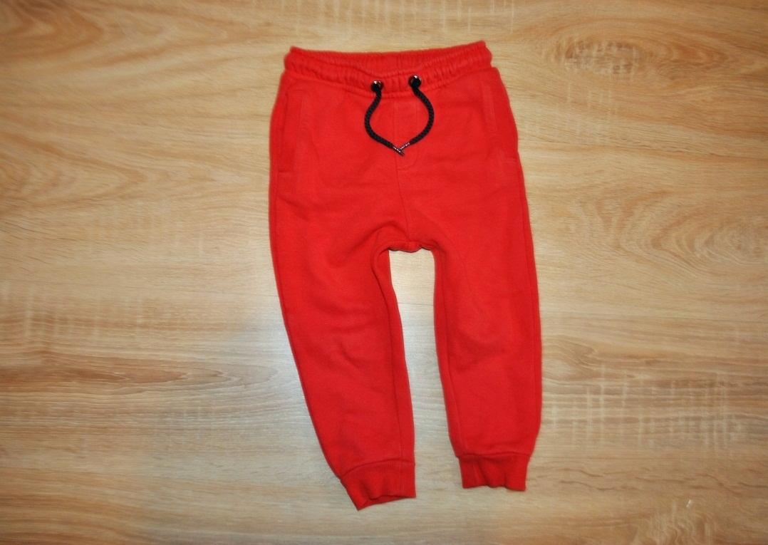 M&S świetne spodnie PUMPY dresy GUMA 92 BDB