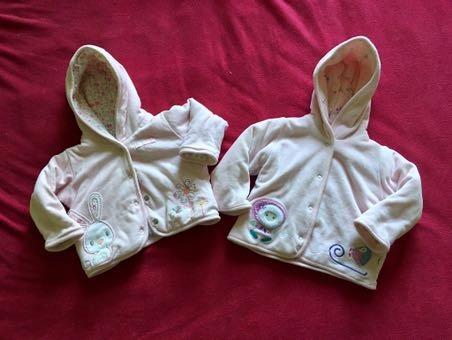 Bluza niemowlęca 62 dwustronna!
