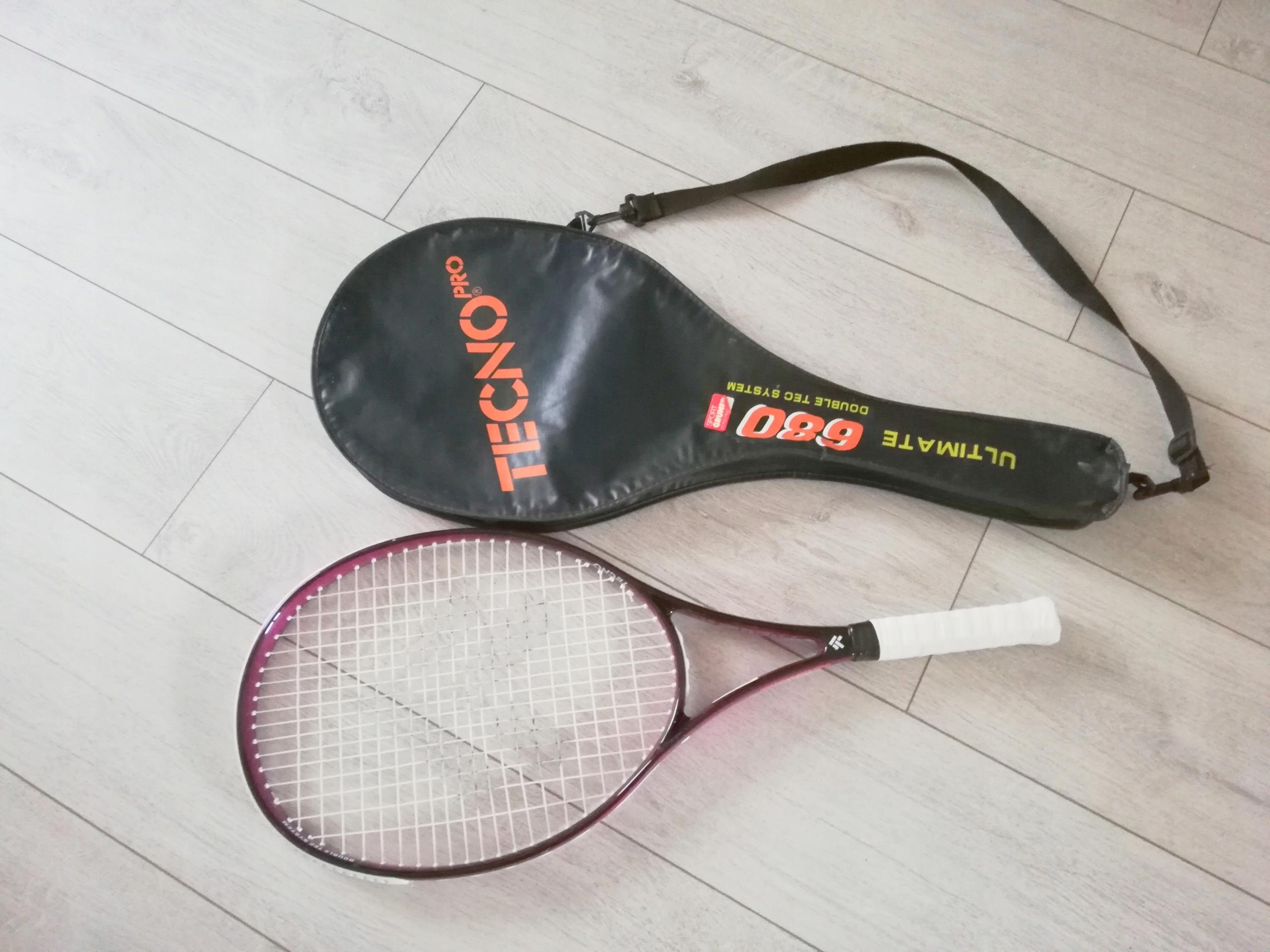 Oryginalna rakieta do tenisa damska + Pokrowiec