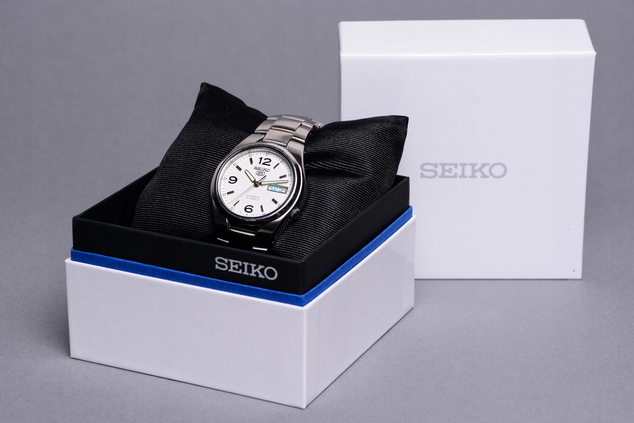 reputable site 9a4bd 51641 Seiko 5 SNKM73K1/SNK615K1 Automatic JEDYNY TAKI - 7862629861 ...