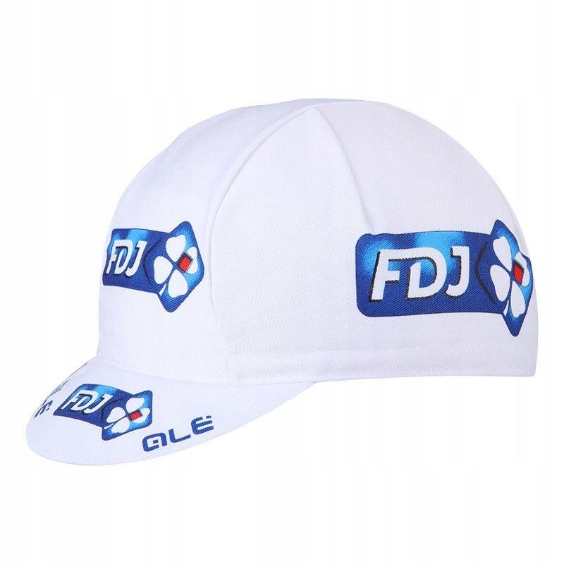 Apis Profi czapeczka kolarska FDJ biała