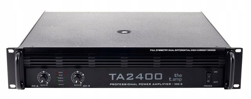 Wzmacniacz t.amp TA2400MK-X - FV
