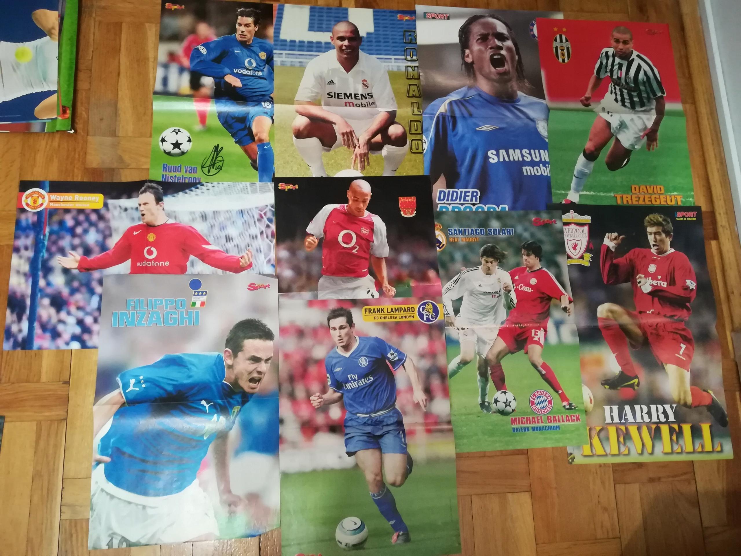 48 plakatów Piłka nożna dwustronne Bravo/GigaSport