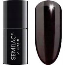 Semilac 077 Lakier hybrydowy Brown Black