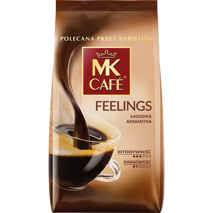 KAWA MK CAFE FEELINGS PALONA MIELONA 250 G
