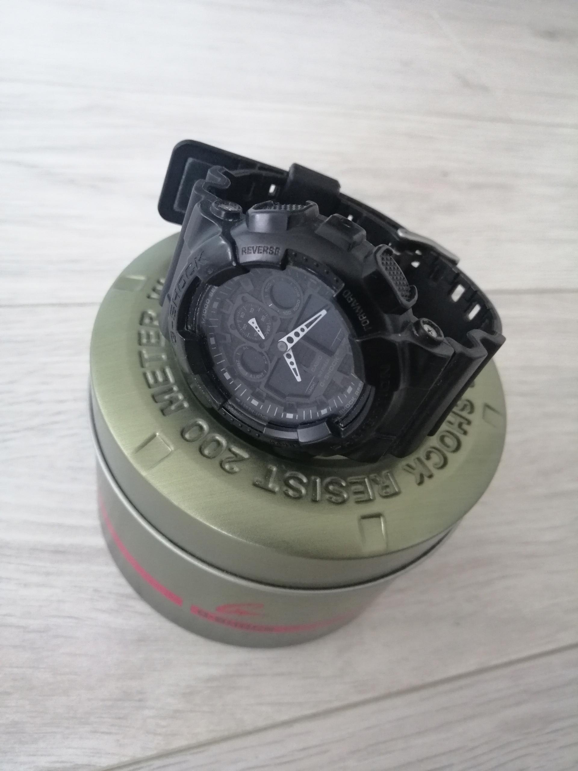Zegarek Casio G-SHOCK GA-100