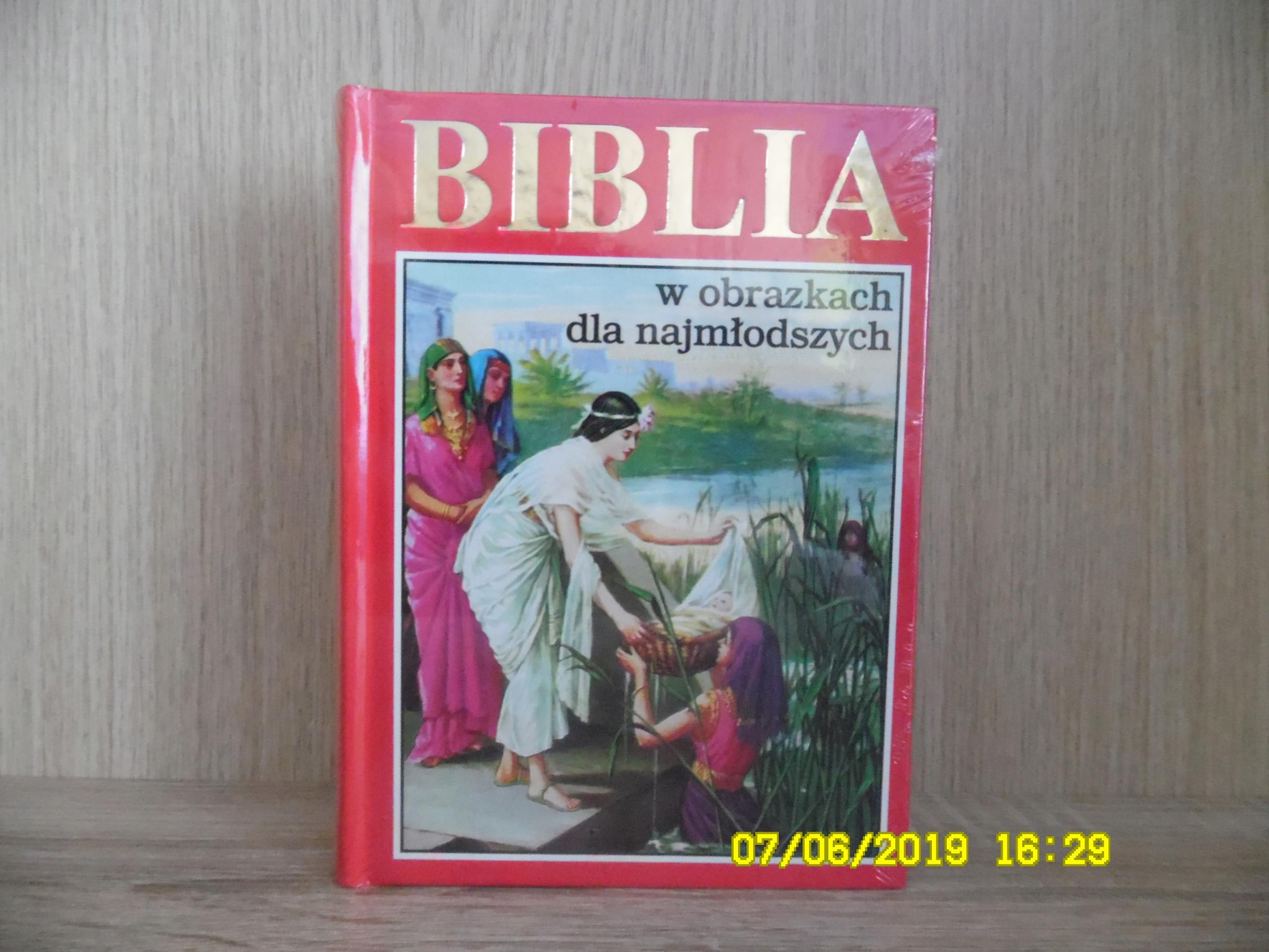 Biblia dla dzieci w obrazkach
