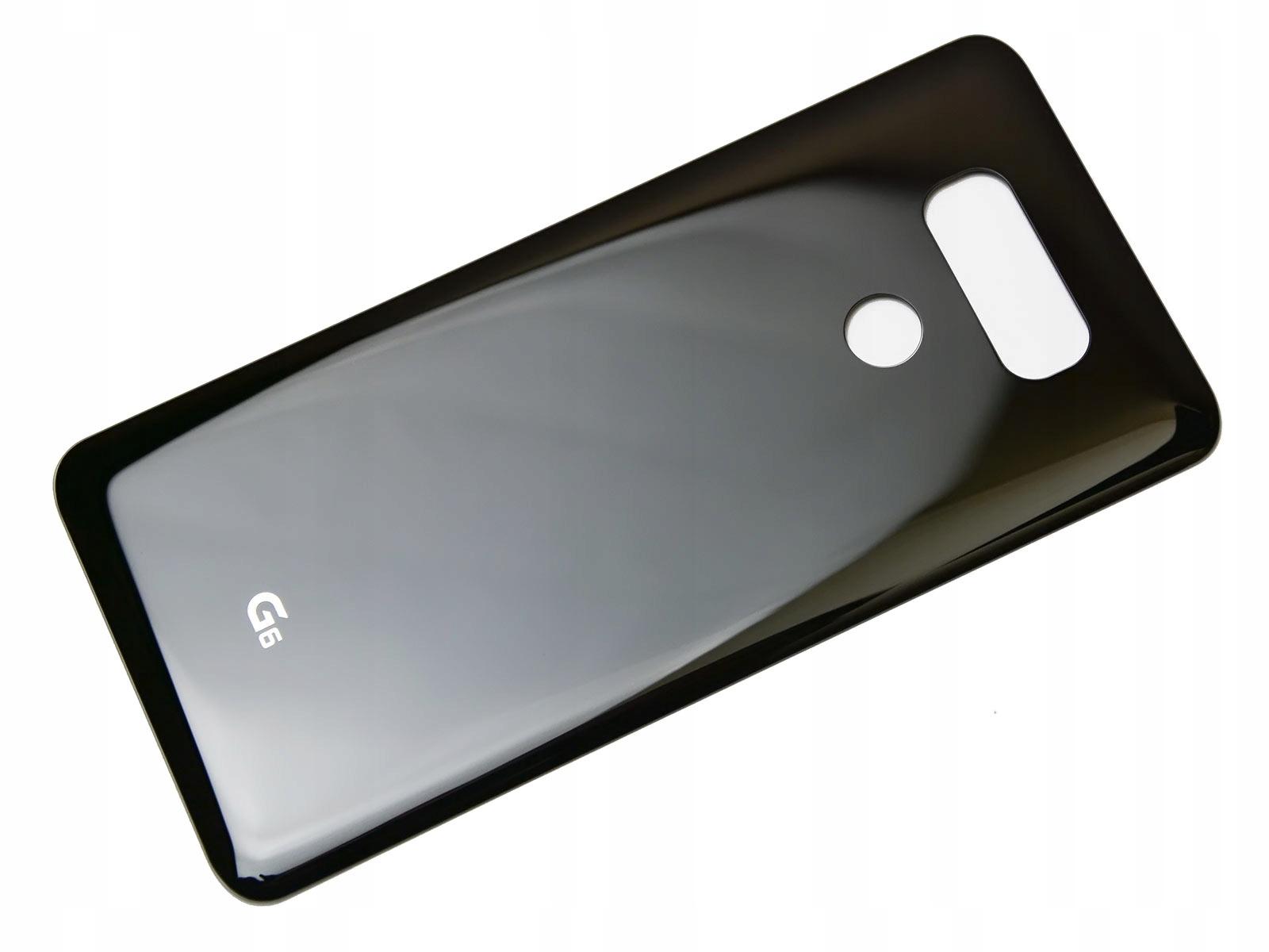 WYMIANA KLAPKA BATERII OBUDOWA LG G6 H870 Czarna