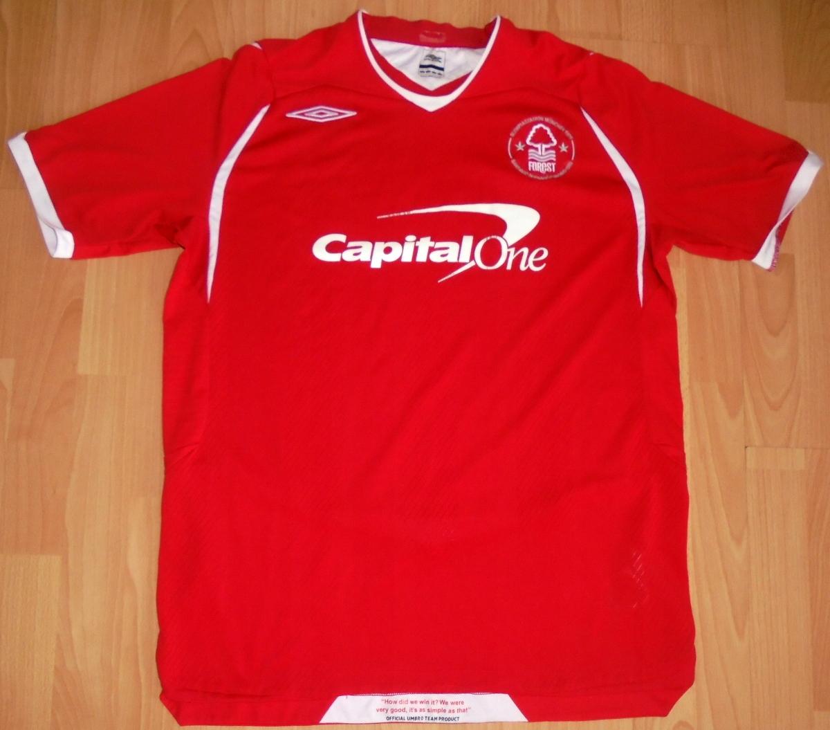 Koszulka Nottingham Forest Umbro L 2008/09