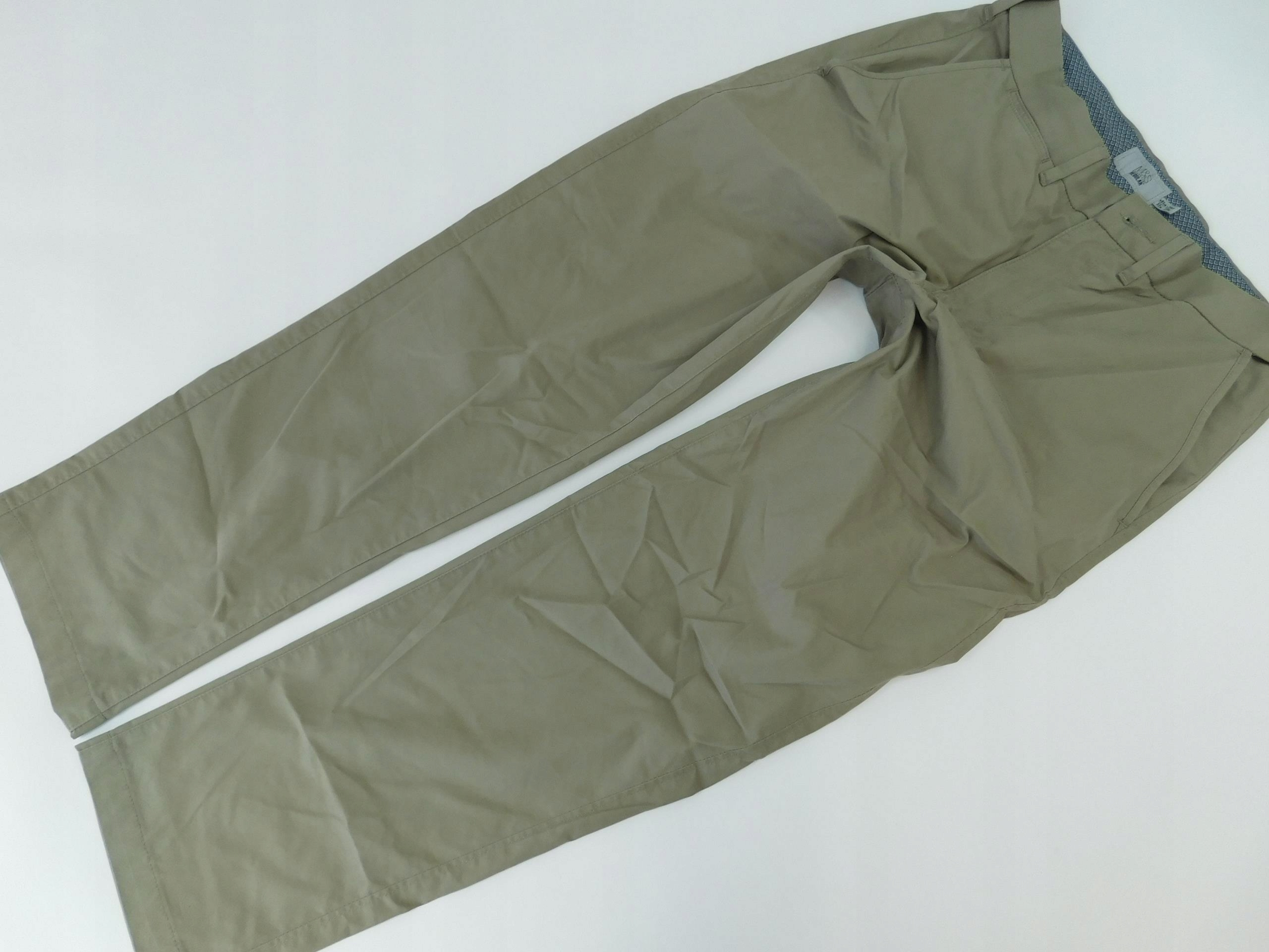 1206A80 MARKS&SPENCER chinos BEŻOWE W32L29