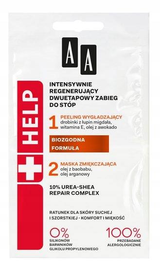 AA Help Intensywnie regenerujący zabieg do stóp