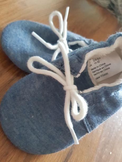 H&M buty niechodki 18/19 niebieskie