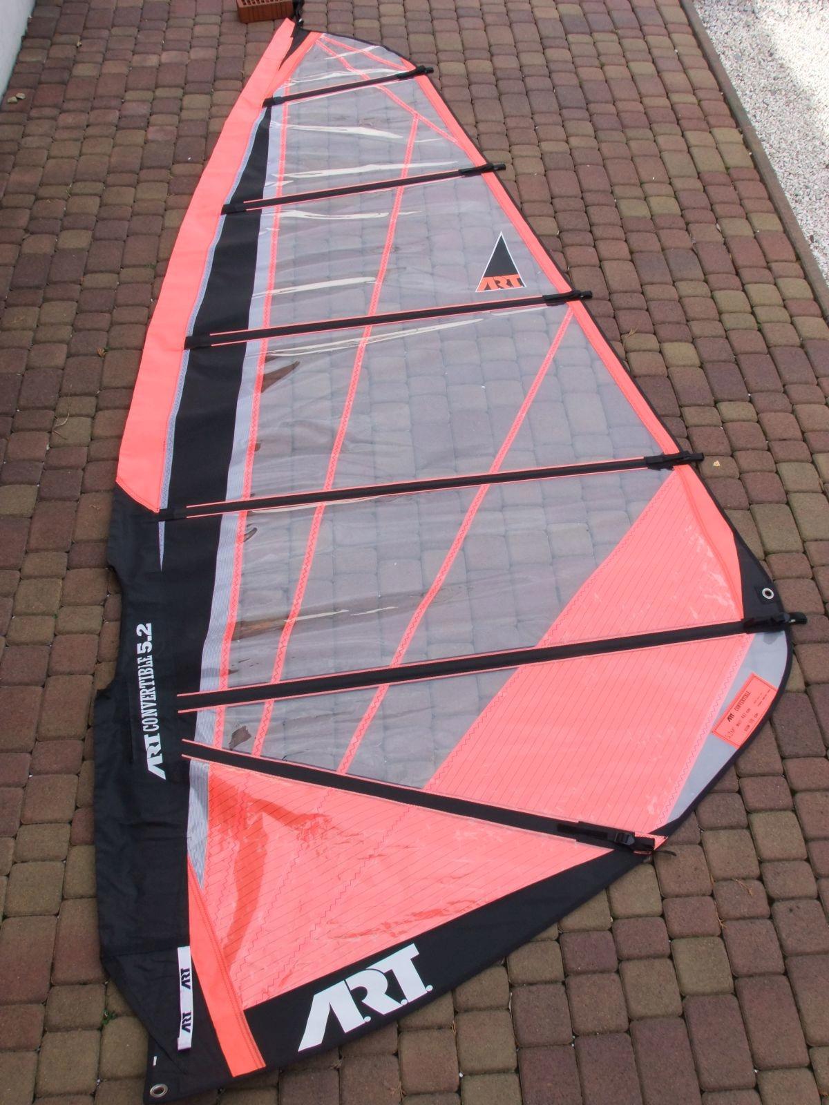 Żagiel do windsurfingu ART .-pow.5,2 m