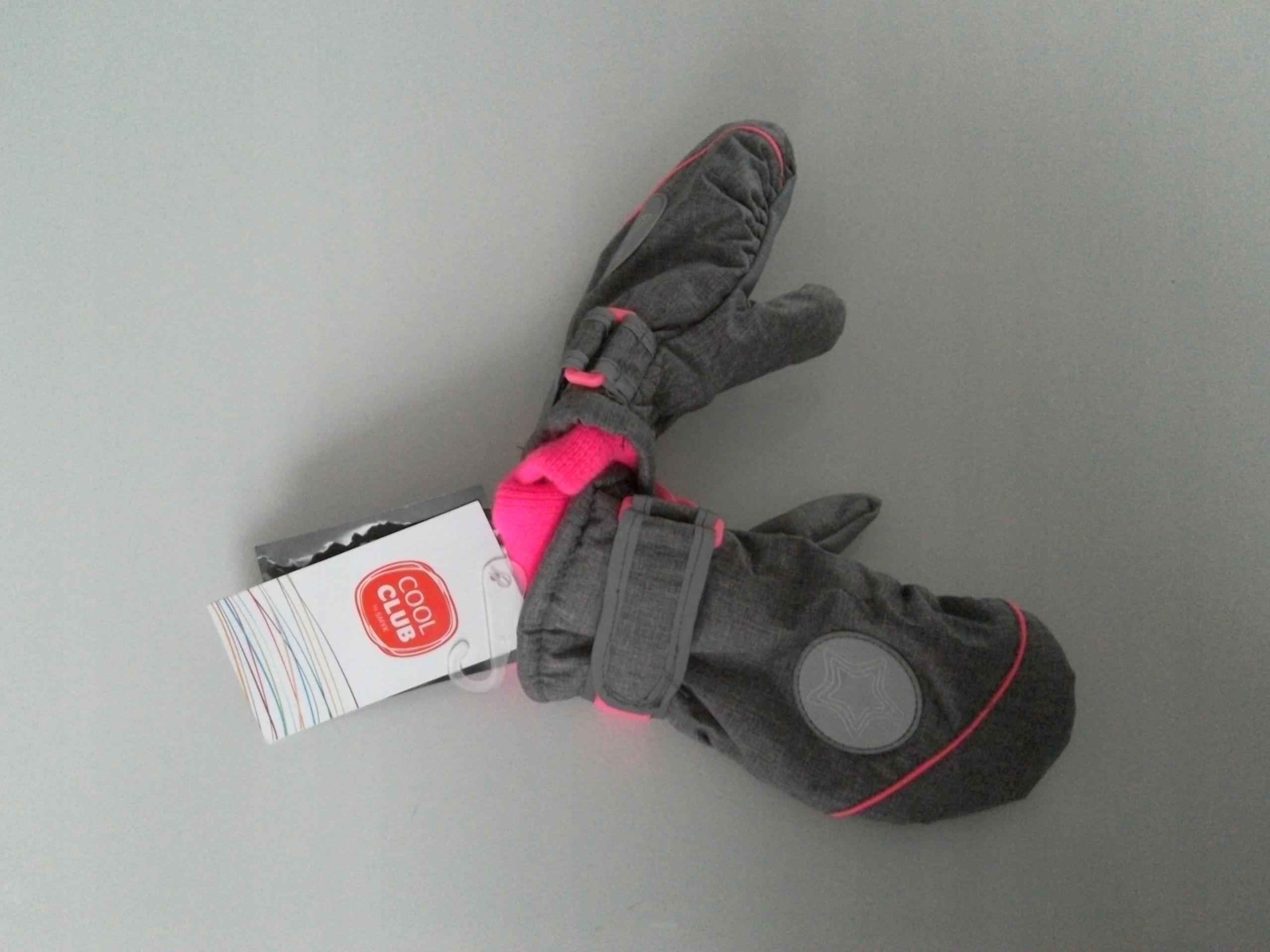 Cool Club śliczne rękawiczki narciarskie r.98/110