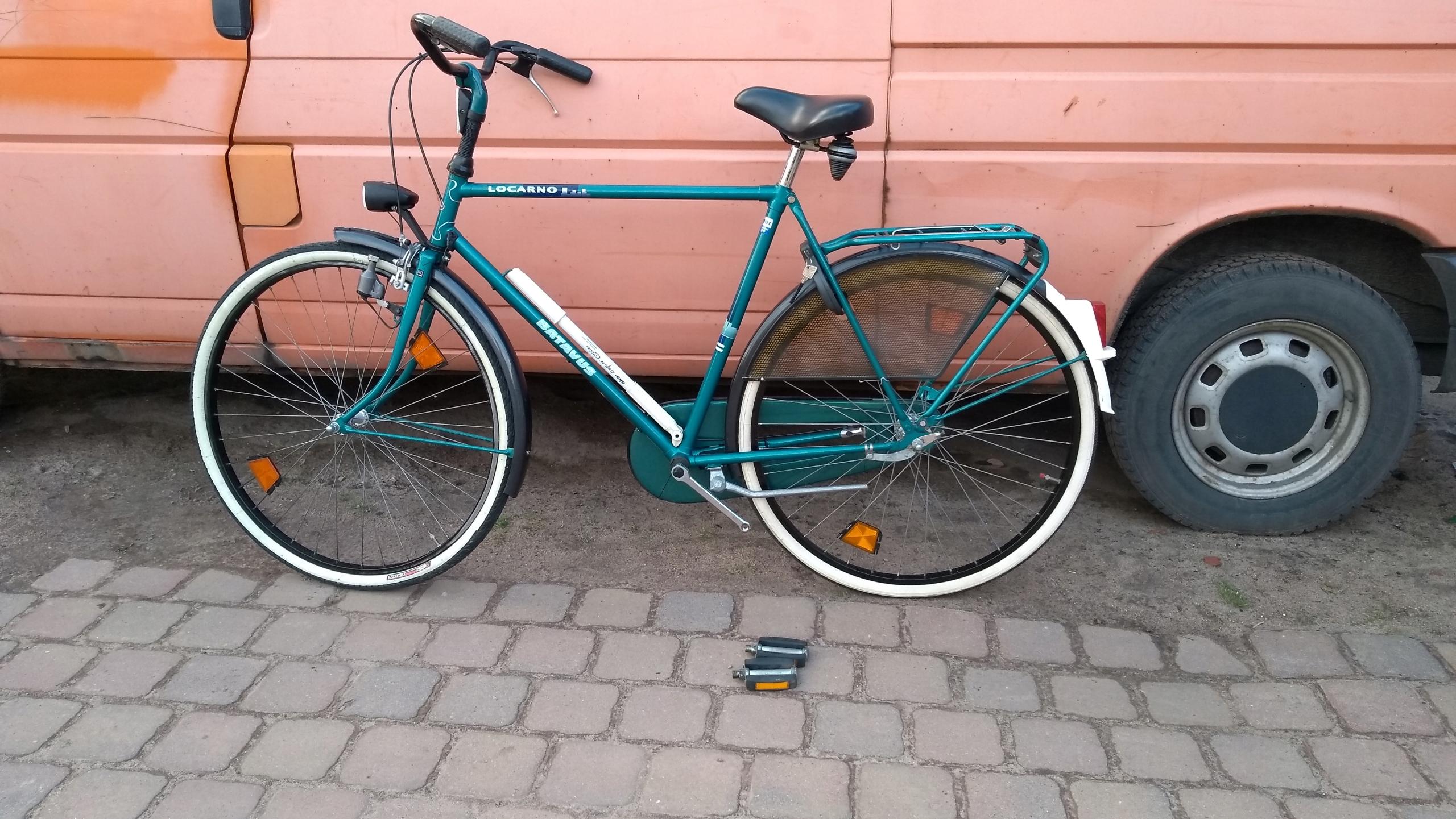 Holenderski rower Batavus.