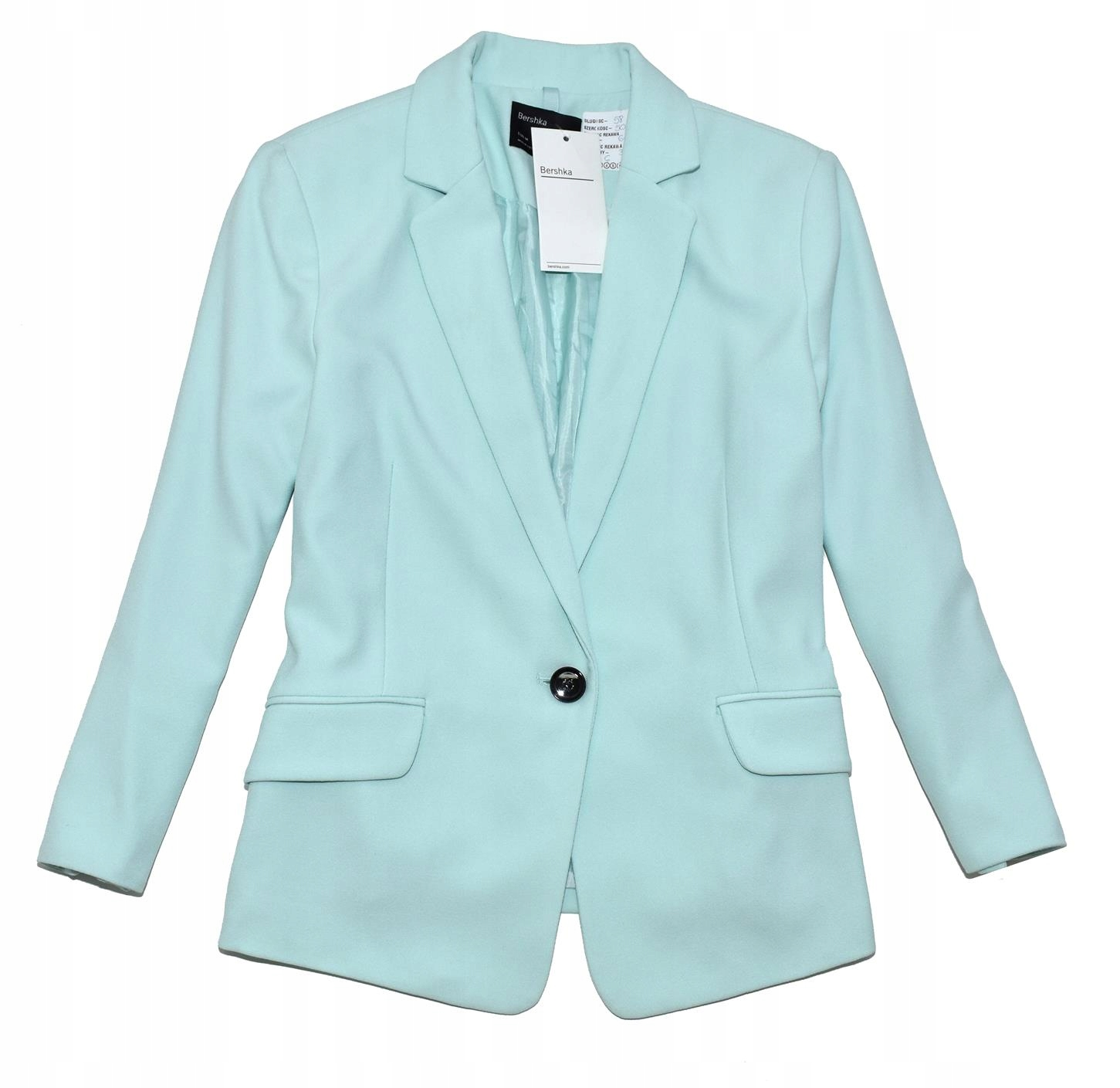 KK 304 BESRHKA_TRENDY NEW FROZEN MINT BLAZER_M