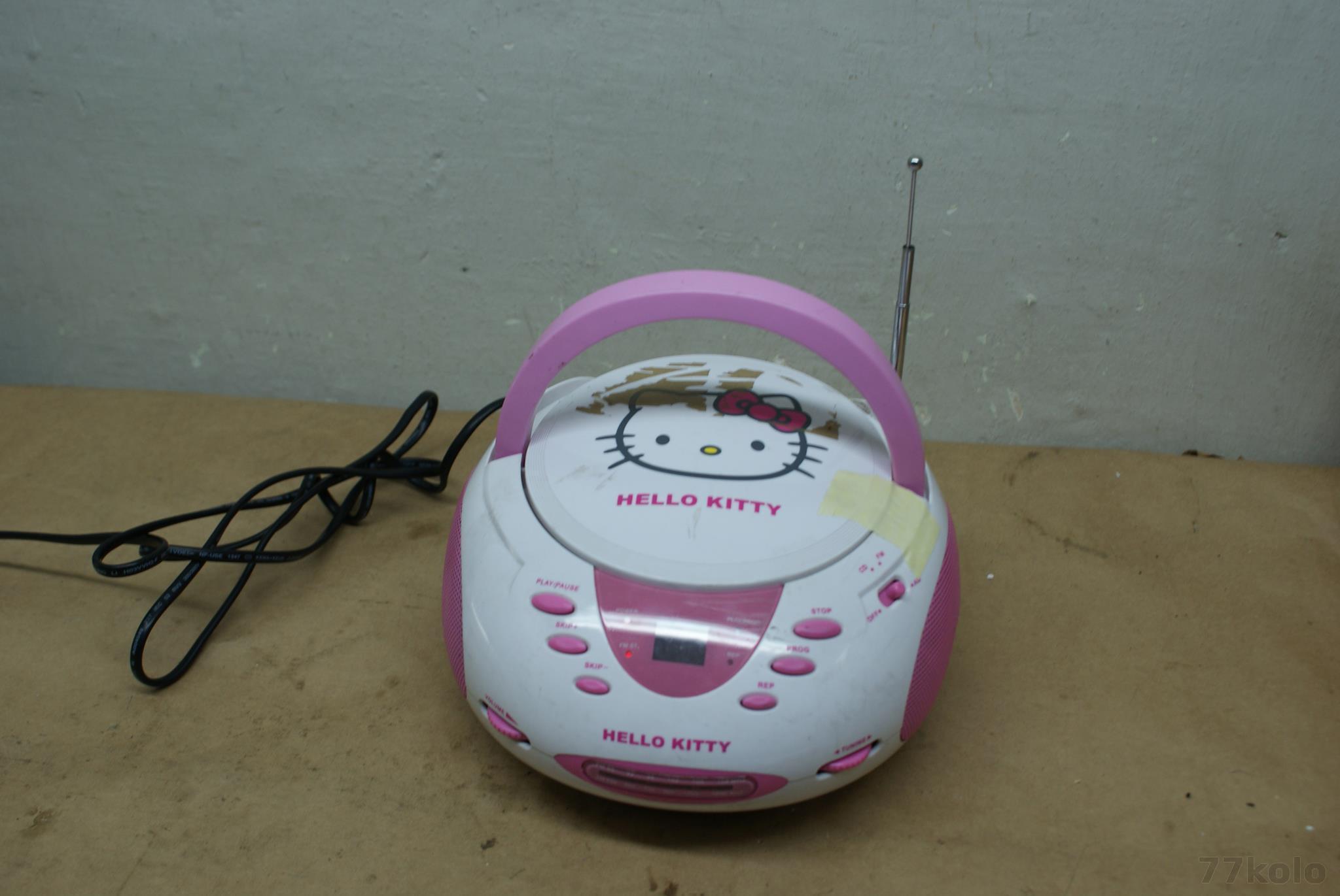 HELLO KITTY RADIOODTWARZACZ CD BOOMBOX (4414)