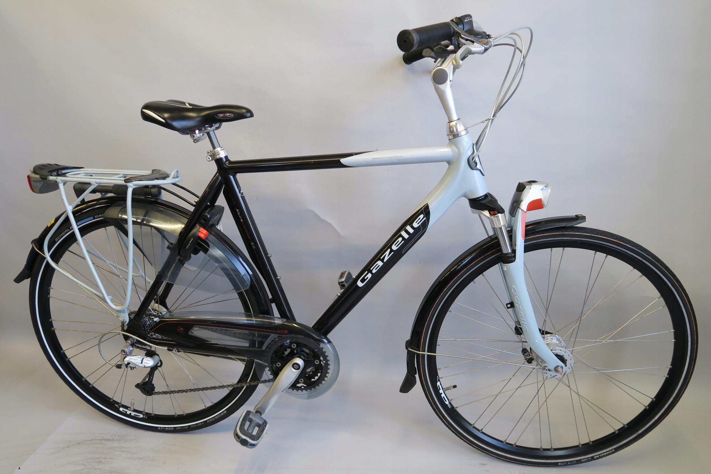 Markowy rower holenderski Gazelle Allure Deore