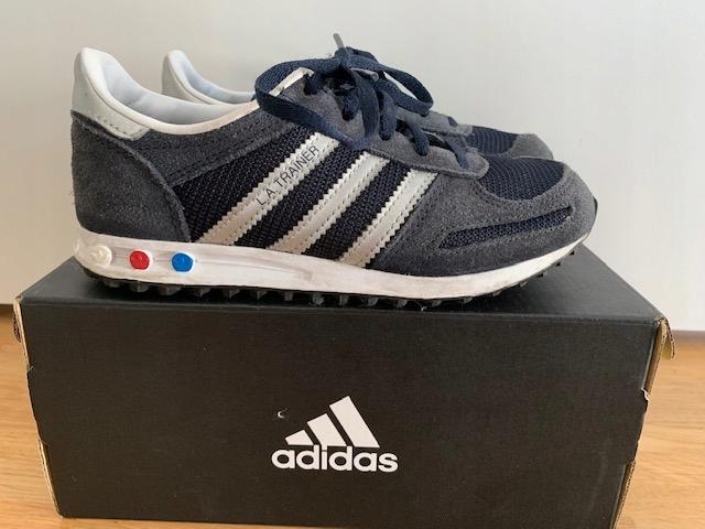 Buty Adidas La Trainer chłopięce 31 8120805773 oficjalne