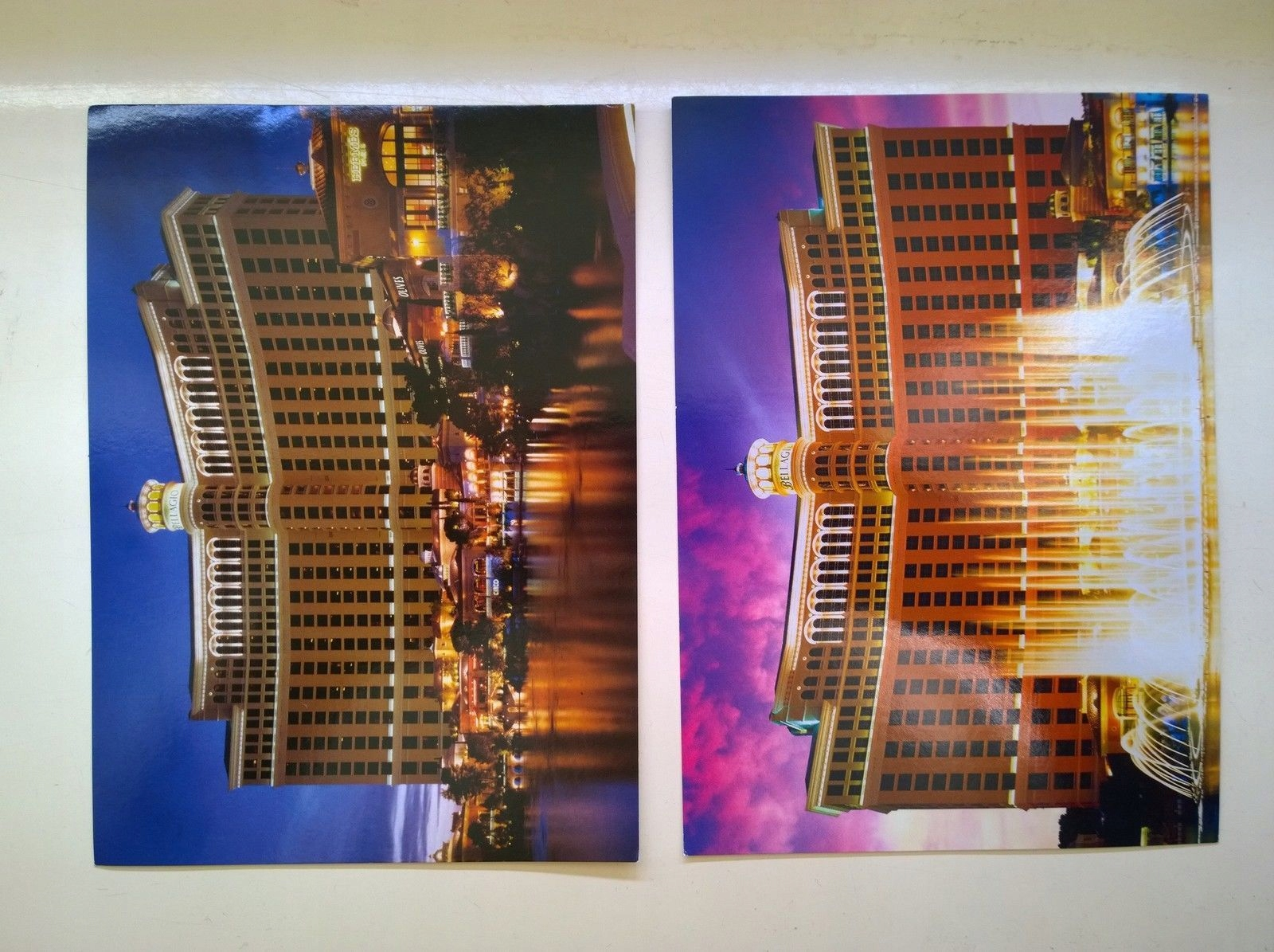 Kartki Bellagio Hotel & Casino Las Vegas