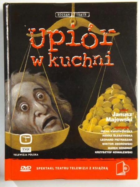 Upiór w kuchni Majewski Clarke 1993 Książka BDB-