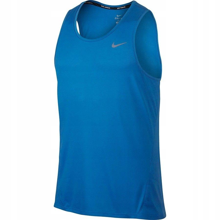 Koszulka Nike DF Cool Tailwind 724914 NIEBIESKI; M