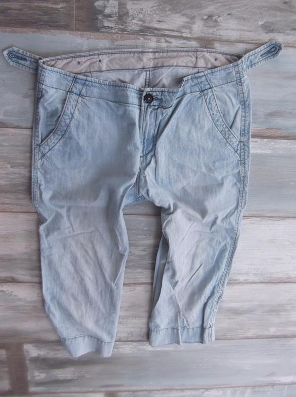 MARKS SPENCER__DŻINSOWE rybaczki SPODENKI jeans_42