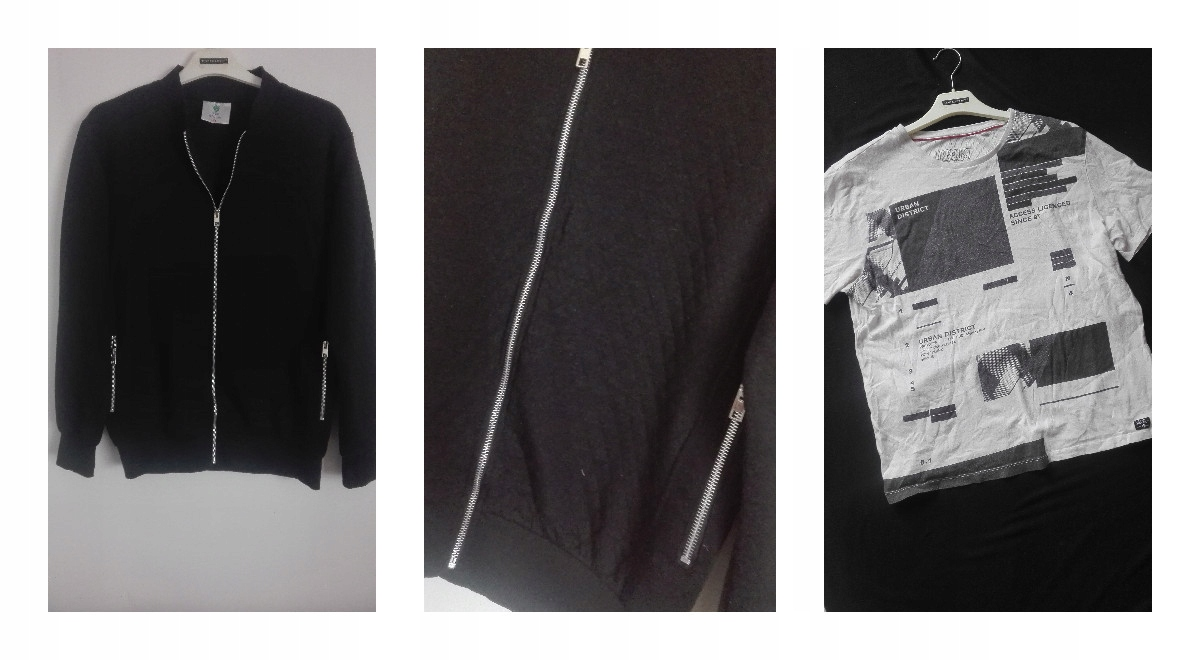 N85 Mega Paka Męska L/XL koszule spodnie Zapra