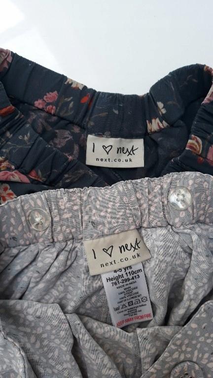 spódnico spodnie next 110/116