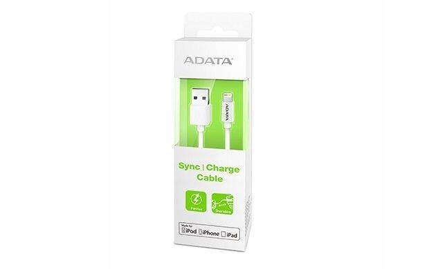 BYD - Adata Kabel USB 200 cm Apple MFI White plast
