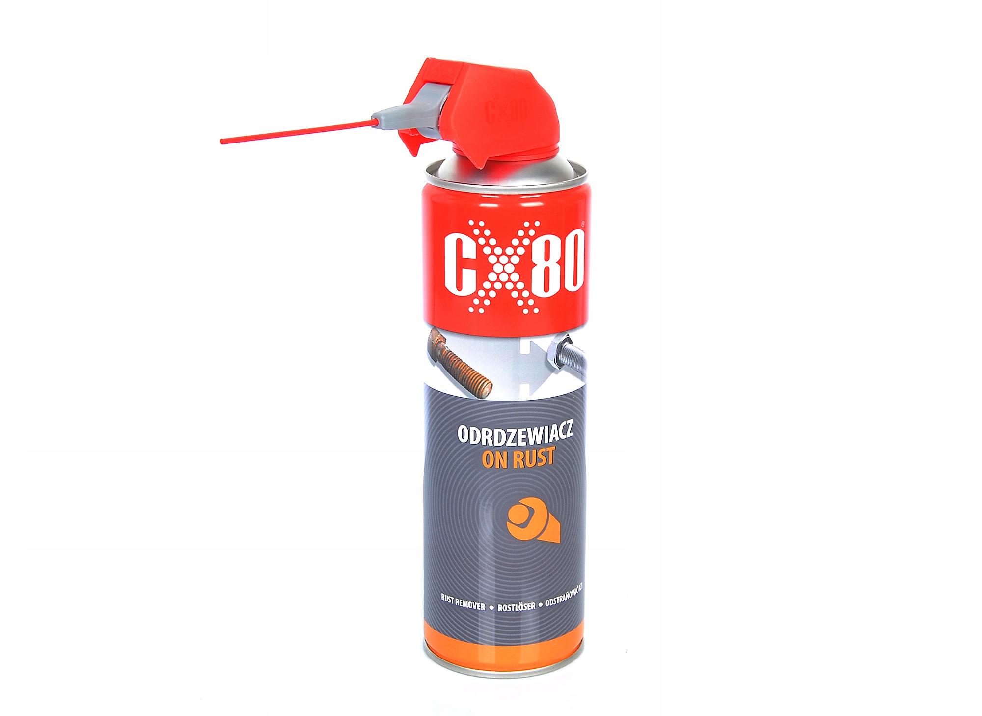 CX-80 ON RUST odrdzewiacz penetrator 500ml