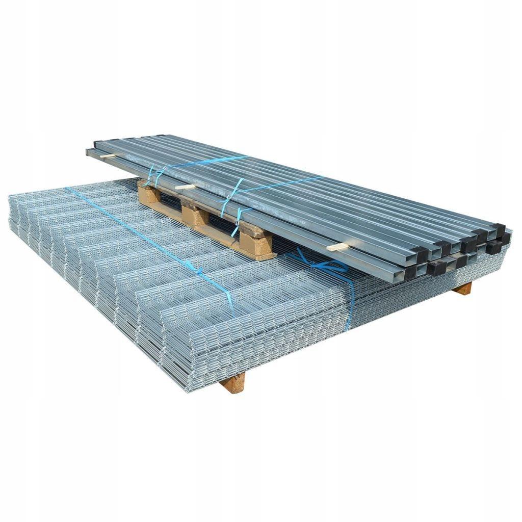 Panele ogrodzeniowe 2D z słupkami - 2008x2030 mm 1